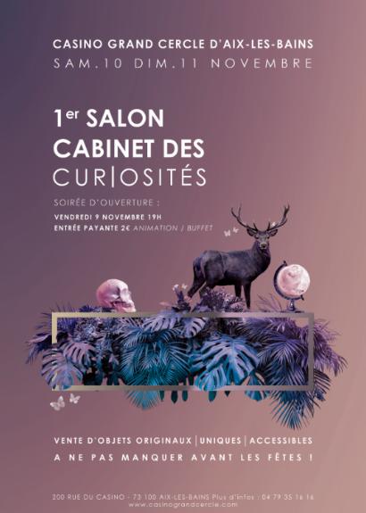 1er salon Cabinet de Curiosités à Aix les Bains, novembre 2018