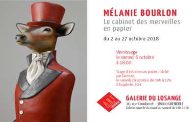 Expo Galerie du Losange du 2 au 27 octobre