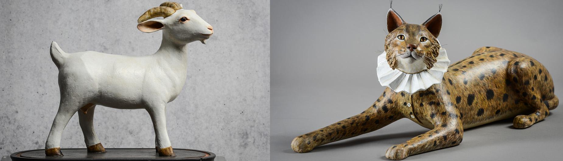 Audacieuse Papier Mâché ~ Mélanie Bourlon, artiste ~ Sculptures, Stages CW-27