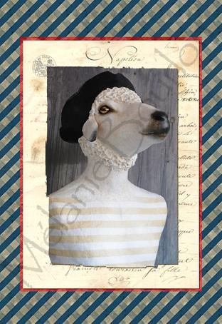 Jean-Paul - Carte postales Mélanie Bourlon - série 1