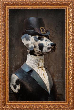 Dalmatienne - Carte postales Mélanie Bourlon - série 2