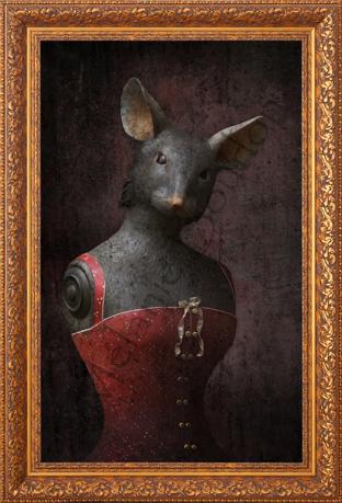 Souris - Carte postales Mélanie Bourlon - série 2