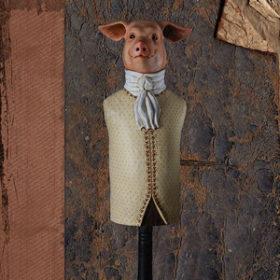 Cochon - Carte postales Mélanie Bourlon - série 4