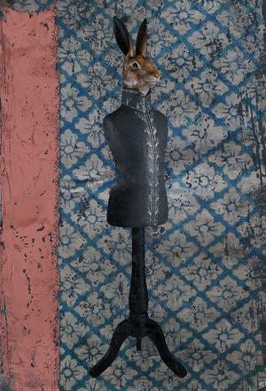 Lièvre - Carte postales Mélanie Bourlon - série 4