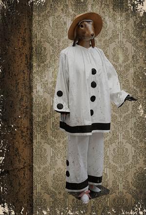 Pierrot - Carte postales Mélanie Bourlon - série 4
