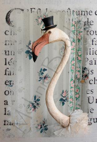 Flamand - Carte postales Mélanie Bourlon - série 1