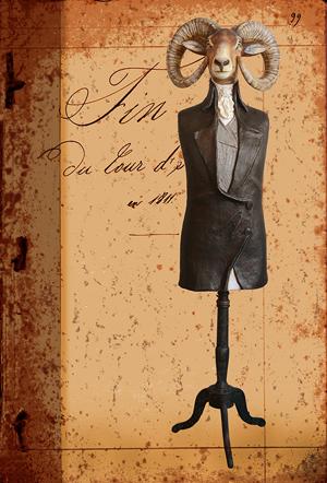 Bélier- Carte postales Mélanie Bourlon - série 4