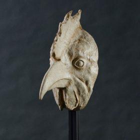 Coq- Sculpture en papier de Mélanie Bourlon - 38 Le Avenières - Isère - Rhône-Alpes - France - Photo : Anthony Cottarel