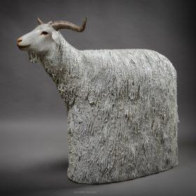 Pashmina- Sculpture en papier de Mélanie Bourlon - 38 Le Avenières - Isère - Rhône-Alpes - France - Photo : Anthony Cottarel
