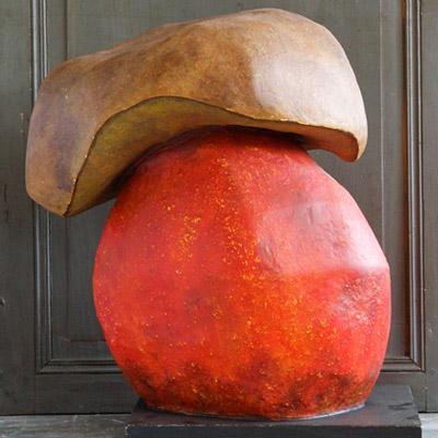 - Épicerie fine - Sculpture en papier de Mélanie Bourlon - 38 Le Avenières - Isère - Rhône-Alpes - France - Photo : Anthony Cottarel