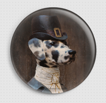 Badge Dalmatienne