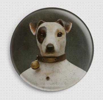 Badge Jack Russel
