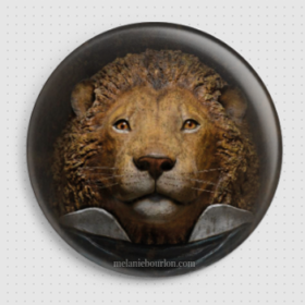 Badge lion
