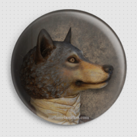 Badge sieur loup