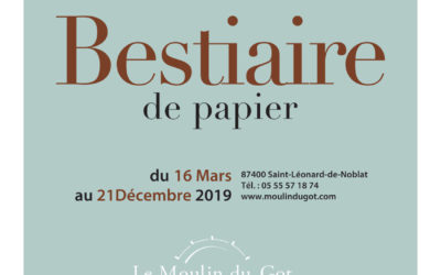 Expo au Moulin du Got jusqu'au 21/12/19