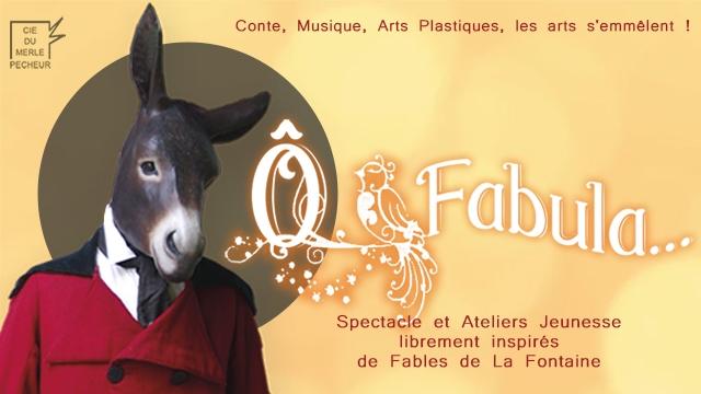 Spectacle O-Fabula âne - Cie du Merle PêcheurMélanie Bourlon