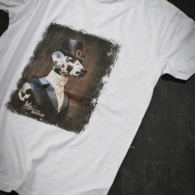T-shirt Bestiaire Mélanie Bourlon - Dalmatienne