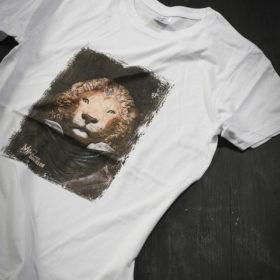 T-shirt Bestiaire Mélanie Bourlon - Lion