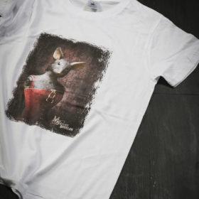 T-shirt Bestiaire Mélanie Bourlon - Souricette