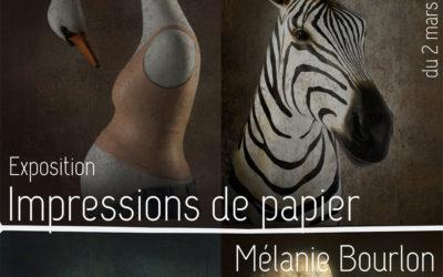 """Expo """"Impressions de Papier"""" du 2 mars au 27 avril"""