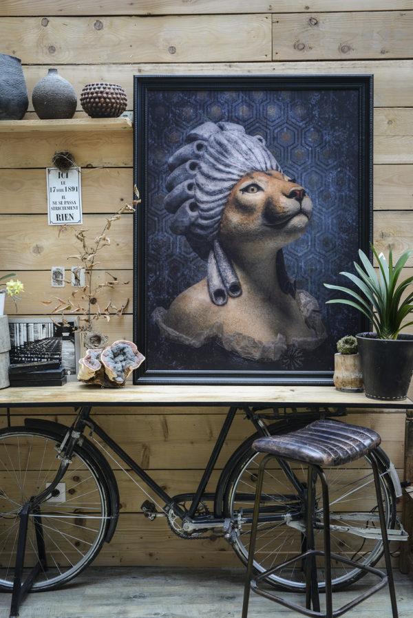 toile Marie Puma 120x90cm - Melanie Bourlon - Photo Anthony Cottarel