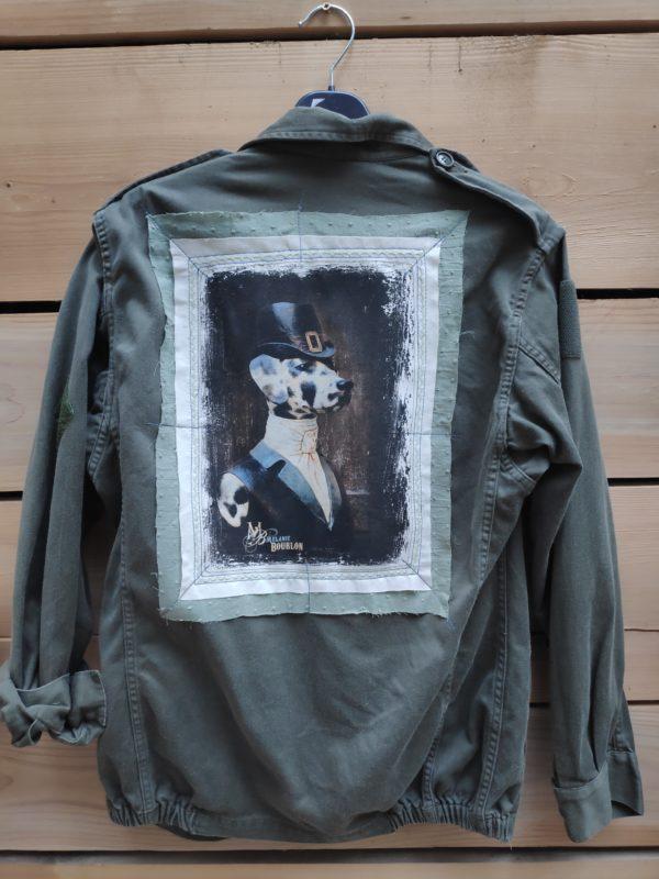 Veste recyclée Dalmatienne 1