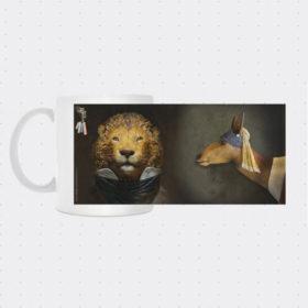 Mug Lion Biche - Mélanie Bourlon Sculptures