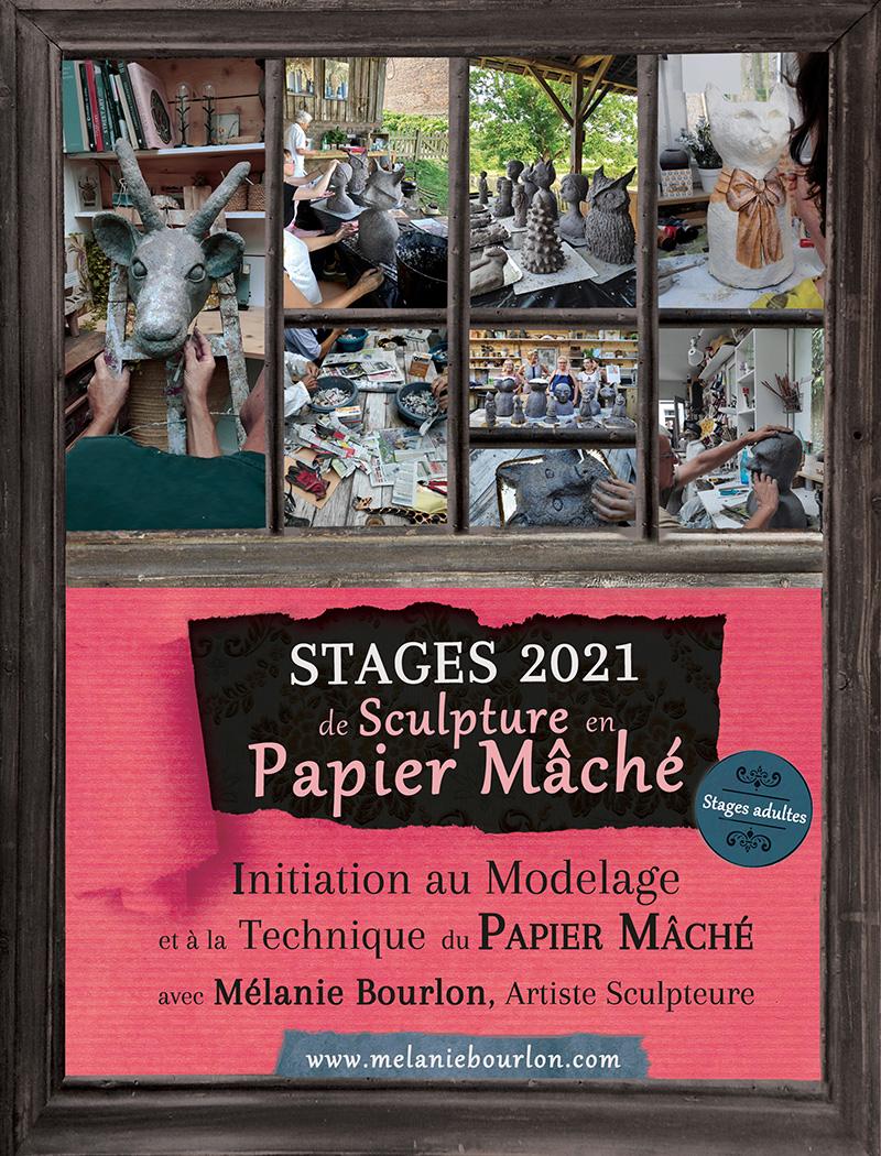 Dépliant stages 2021 au format PDF